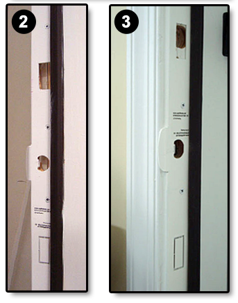 Broken Door Frame Repair Is As Simple As 1 2 3 With StrikeMaster II Pro