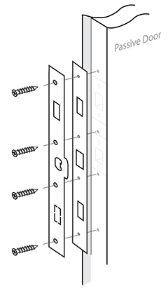 Position StrikeMaster II Pro pieces 1 and 2 together as one unit and place on passive edge. Be sure that the holes of both pieces line up with each other at ...  sc 1 st  Safe Homes International! & Safe Homes International - French Door Kit Installation