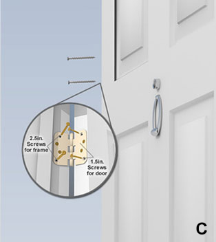 StrikeMaster II Pro French Double Door Reinforcement Kit Installation  Instructions