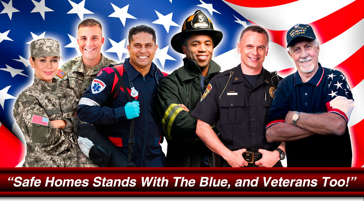 Special Discounts For First Responders Military And Veterans