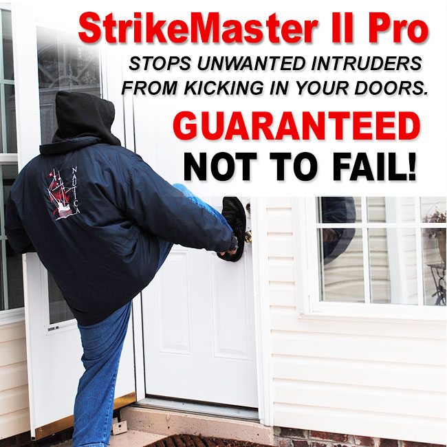 the strikemaster ii pro is positively the most user friendly and the easiest to install door frame reinforcement product on the market