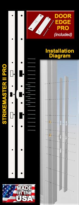 the stikemaster ii pro - Door Frame Reinforcement